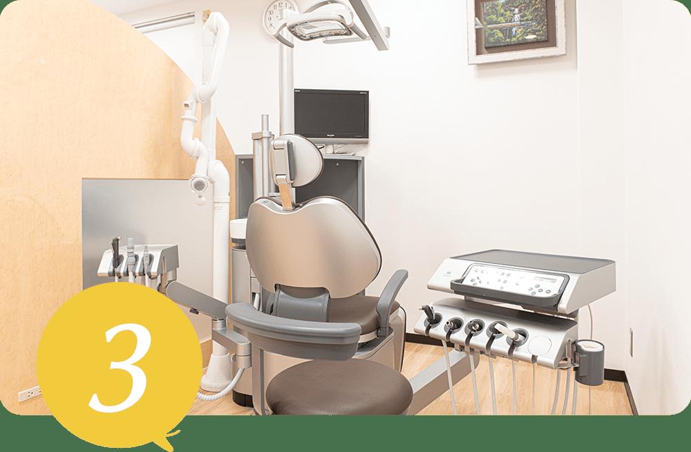 充実した医療設備で質の高い治療を提供しています。