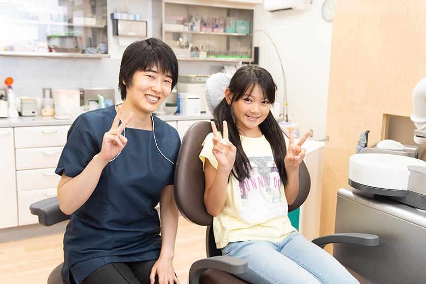 治療後のメインテナンスを継続して虫歯を予防します。
