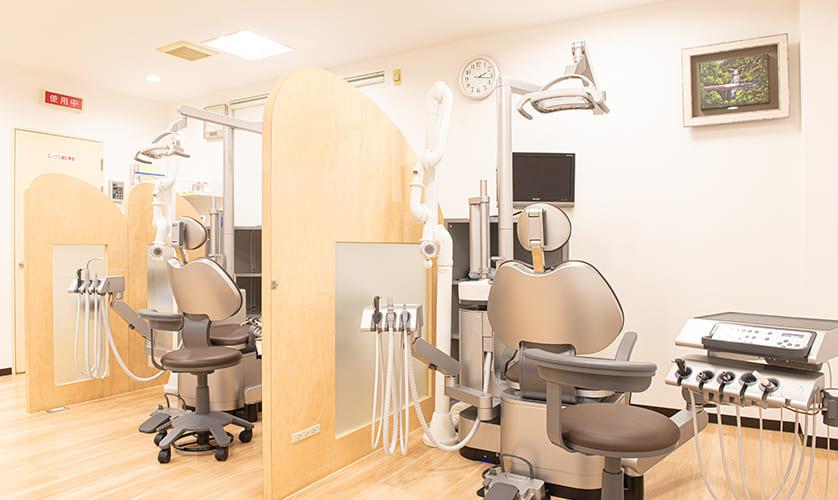 しげた歯科医院診療室